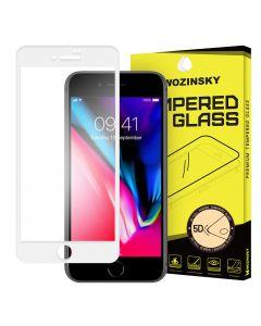Wozinsky Full Glue Full Face White Αντιχαρακτικό Γυαλί 9H Tempered Glass (iPhone 7 Plus / 8 Plus)