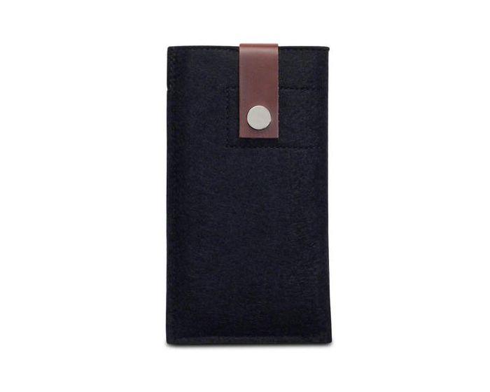 Terrapin Θήκη Pull Up Case (009-002-090) Μαύρο (Samsung Galaxy S6)