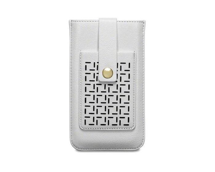 Covert Θήκη Pull Up Case (009-002-093) Λευκό (Samsung Galaxy S6)