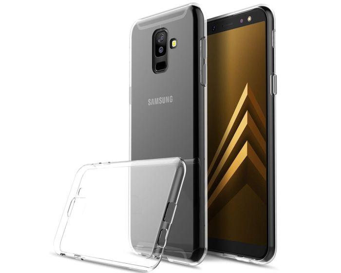 0.5mm Silicone Case Θήκη Σιλικόνης Διάφανο (Samsung Galaxy A6 Plus 2018)