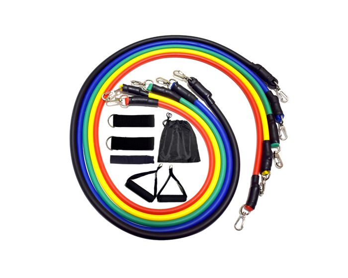 Resistance Bands with Handles 11 Pcs Σετ Λάστιχα Αντίστασης