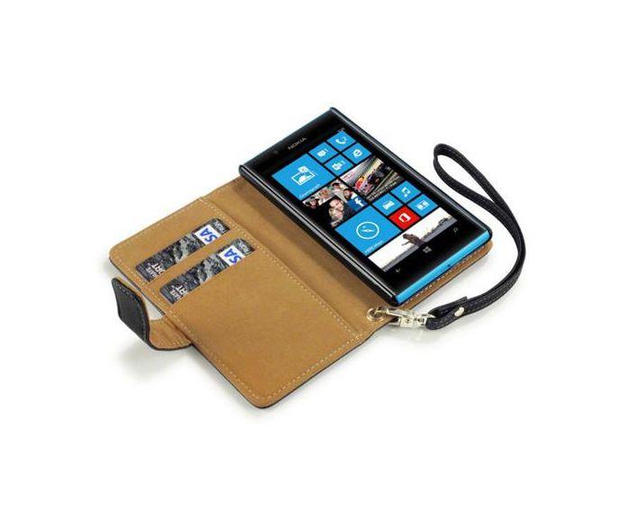 Terrapin Θήκη Πορτοφόλι Wallet Case (117-001-142) Black (Nokia Lumia 720)