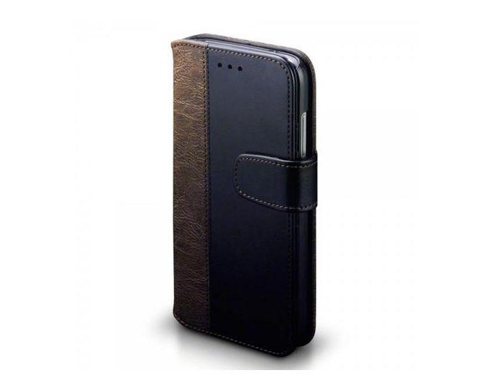 Terrapin Θήκη Πορτοφόλι Stand Case (117-083-038) Μαύρο-Καφέ (Huawei Ascend G8)
