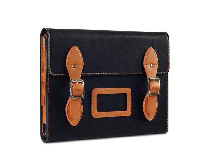 Covert Δερμάτινη Θήκη Leather Stand Case (117-111-015) Μαύρο Καφέ (iPad Air)