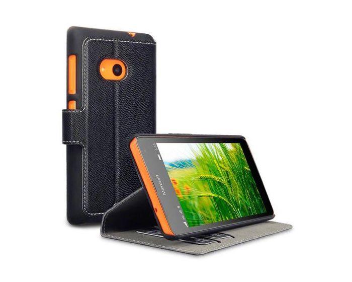 Terrapin Θήκη Πορτοφόλι Stand Case (117-116-023) Black (Microsoft Lumia 532)