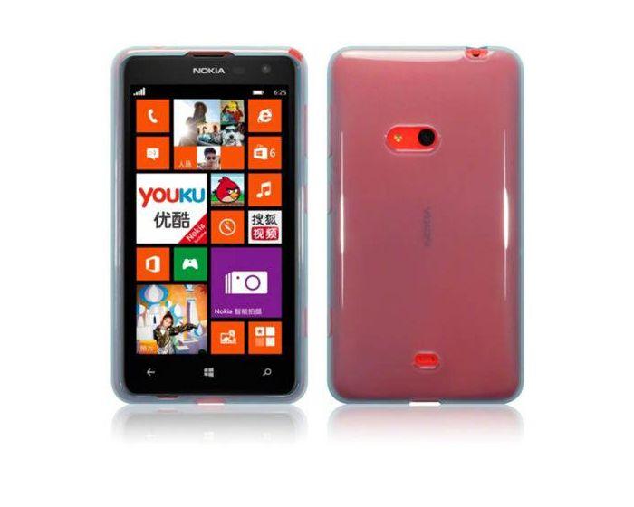 Terrapin Θήκη Σιλικόνης Slim Fit Silicone Case (118-001-198) Ημιδιάφανη (Nokia Lumia 625)