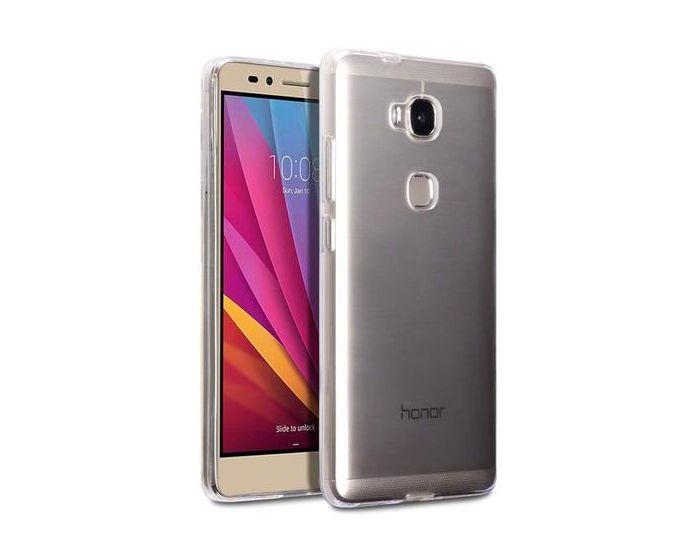 Terrapin Θήκη Σιλικόνης Slim Fit Silicone Case (118-083-032) Διάφανη (Huawei Honor 5X)