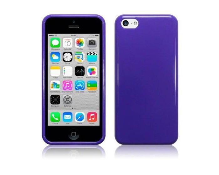 Terrapin Θήκη Σιλικόνης Slim Fit Silicone Case (118-107-003) Mωβ (iPhone 5c)