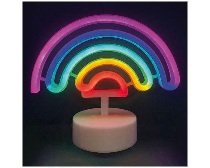 ACA 66 Neon LED Light Φωτιστικό Ουράνιο Τόξο - Πολύχρωμο