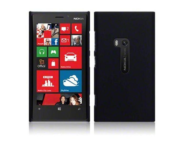 Terrapin Θήκη Καουτσούκ Extra Slim Fit (151-001-036) Μαύρο (Nokia Lumia 920)