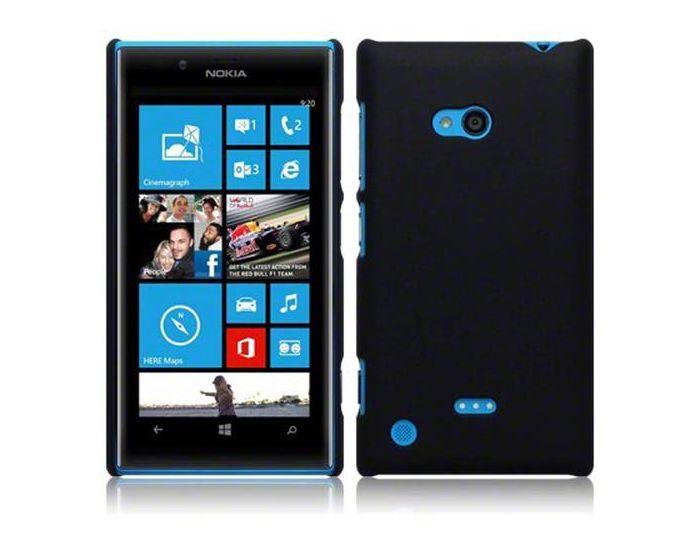 Terrapin Θήκη Καουτσούκ Extra Slim Fit (151-001-045) Μαύρο (Nokia Lumia 720)