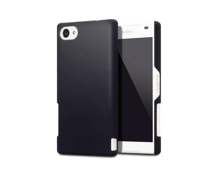 Terrapin Θήκη Καουτσούκ Extra Slim Fit (151-005-108) Μαύρο (Sony Xperia Z5 Compact)