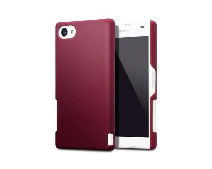 Terrapin Θήκη Καουτσούκ Extra Slim Fit (151-005-109) Κόκκινο (Sony Xperia Z5 Compact)