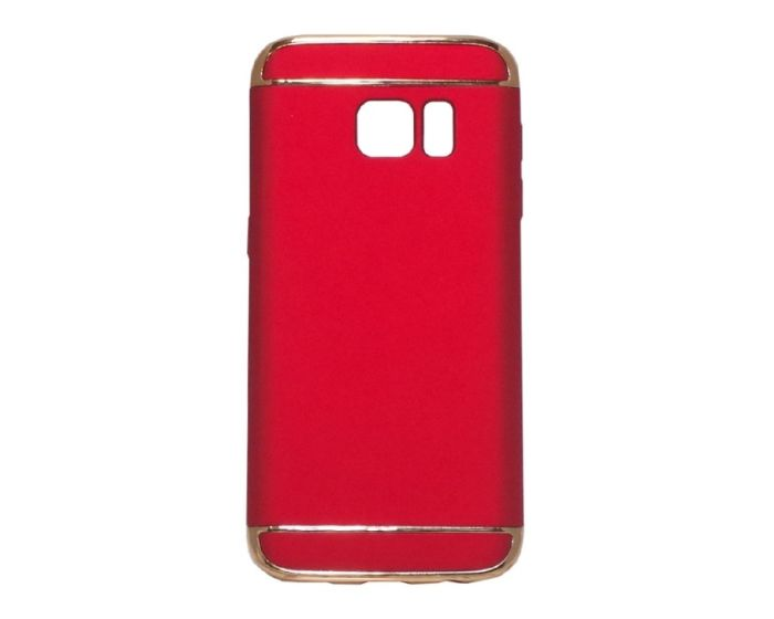 Forcell Luxury Armor 3 in 1 Case Red (Samsung Galaxy S7)