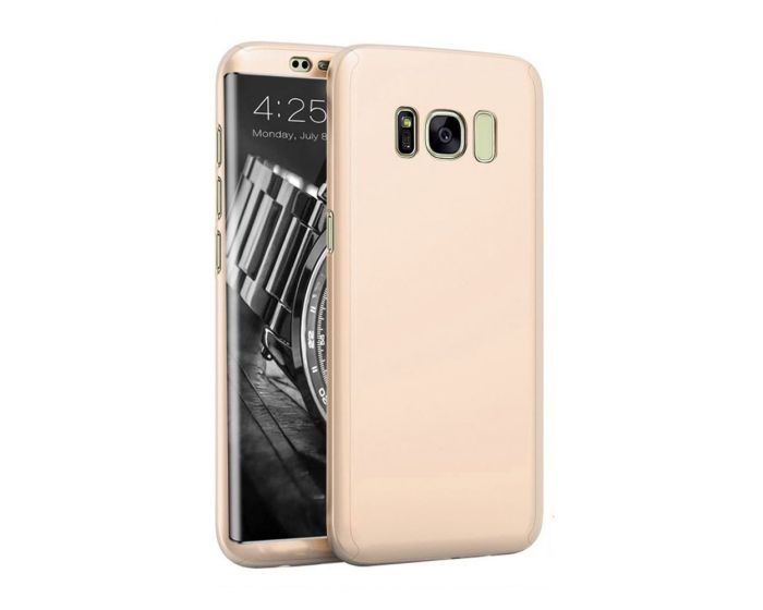 360 Full Cover Case & Screen Protector  - Gold (Samsung Galaxy S8 Plus)