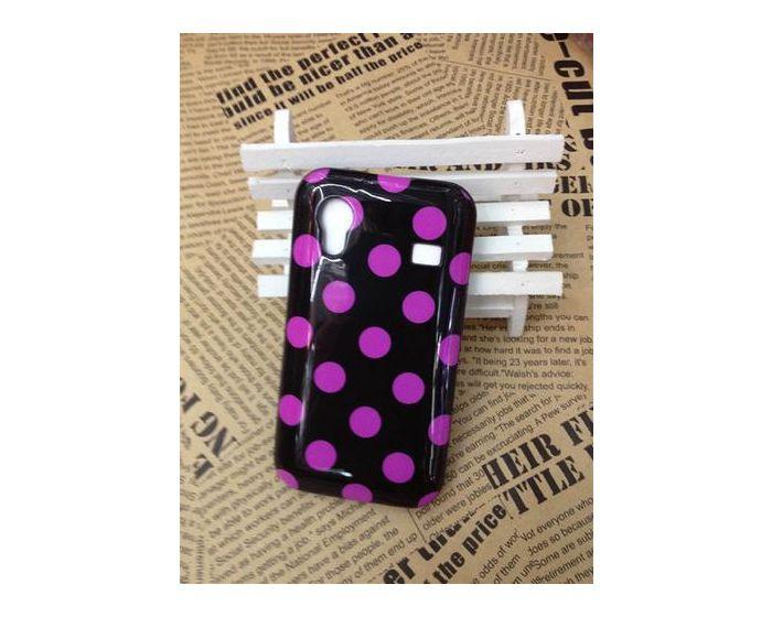 OEM Πλαστική Θήκη Hard Plastic Case Polka Dots (Galaxy Ace s5830i)