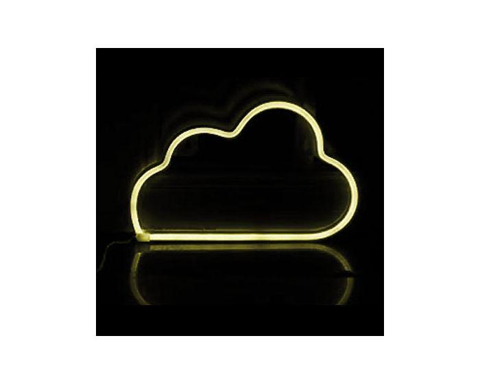 ACA 48 Neon LED Light Φωτιστικό Σύννεφο - Θερμό Λευκό