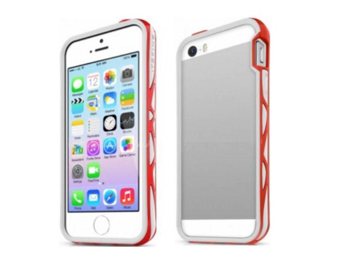 ITSKINS Venum Reloaded Bumper Θήκη White / Red (iPhone 5 / 5s / SE)