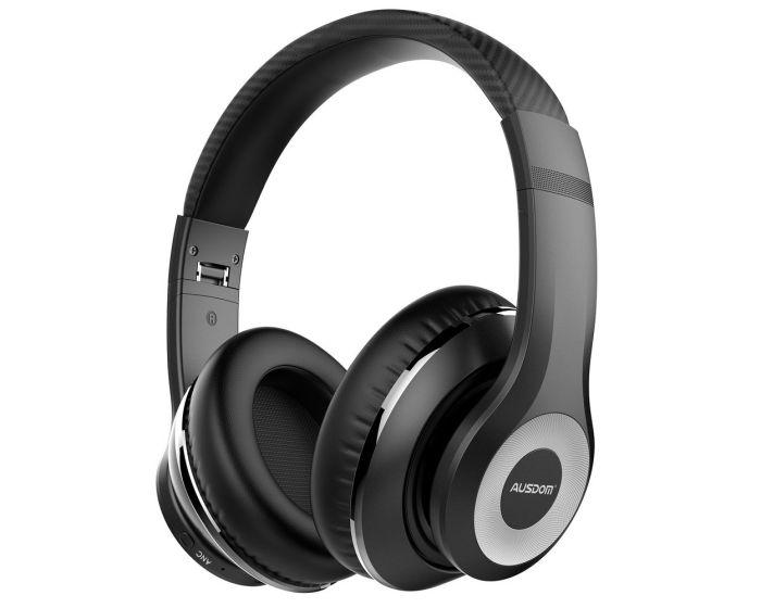 Ausdom Bluetooth Active Noise Canceling Headphones (ANC10) Ασύρματα Ακουστικά - Black
