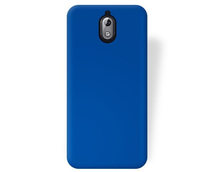 Forcell Jelly Flash Matte Slim Fit Case Θήκη Σιλικόνης Blue (Nokia 3.1 2018)