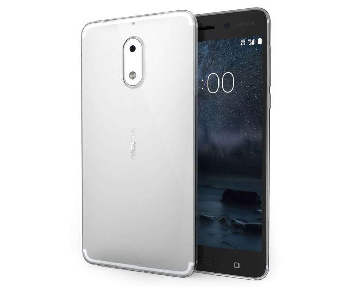 Centopi Ultra Thin TPU Gel Case (CEN-NOK-021) Clear (Nokia 6)