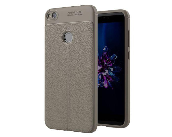 TPU Rugged Armor Football Grain Case Grey (Huawei P8 Lite 2017 / P9 lite 2017 / Honor 8 Lite)