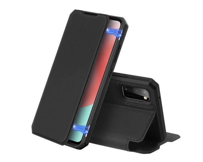 DUX DUCIS Skin X Wallet Case Θήκη Πορτοφόλι με Stand - Black (Samsung Galaxy A31)