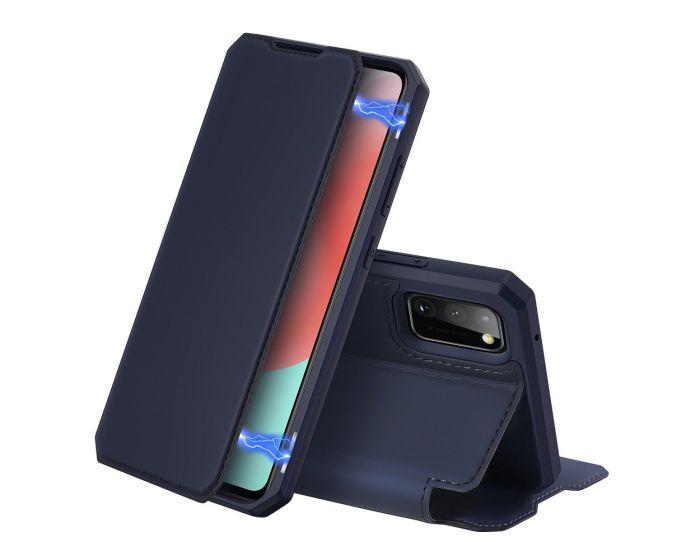 DUX DUCIS Skin X Wallet Case Θήκη Πορτοφόλι με Stand - Blue (Samsung Galaxy A31)