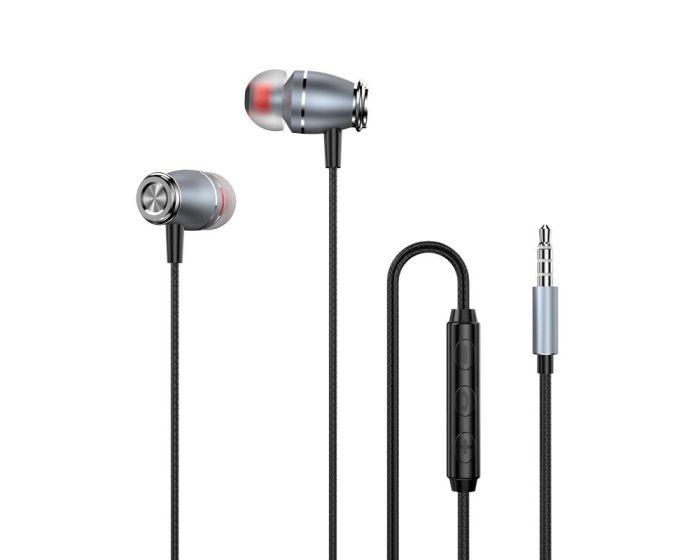 Dudao X4Pro In-Ear Earphones 3.5mm Ενσύρματα Ακουστικά - Gray