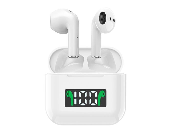 Dudao TWS U14Pro Wireless Bluetooth Stereo Earbuds with Charging Box - White