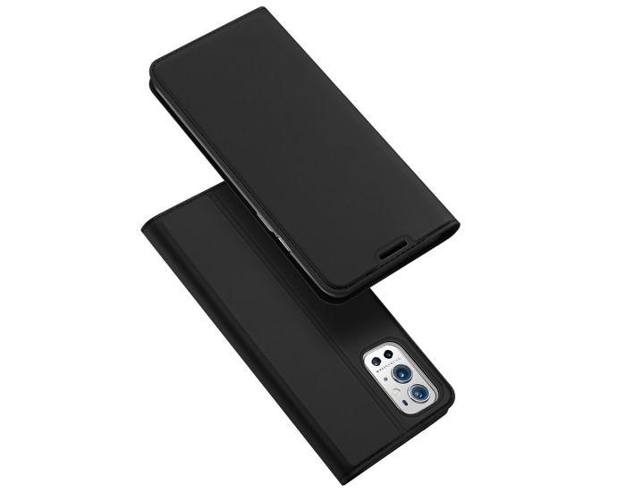 DUX DUCIS SkinPro Wallet Case Θήκη Πορτοφόλι με Stand - Black (OnePlus 9 Pro)