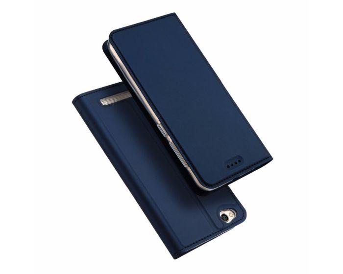 DUX DUCIS SkinPro Wallet Case Θήκη Πορτοφόλι με Stand - Βlue (Xiaomi Redmi 5A)