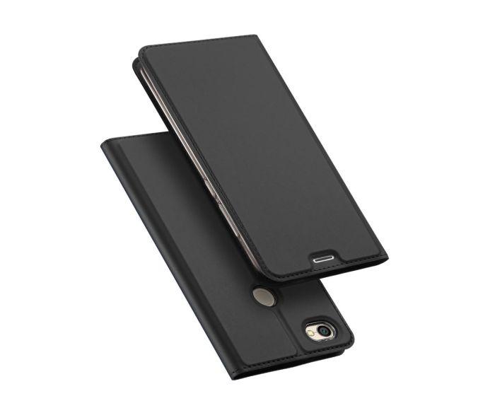 DUX DUCIS SkinPro Wallet Case Stand Θήκη Πορτοφόλι - Grey (Xiaomi Redmi Note 5A Prime)