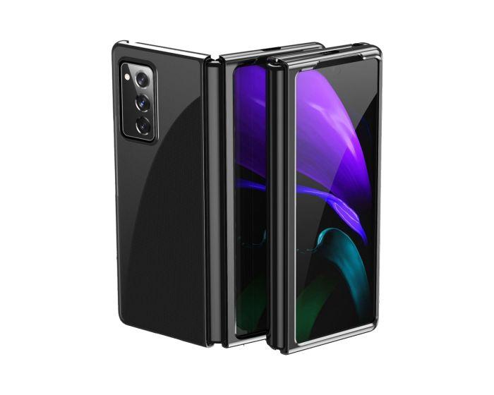 Electroplating Frame Cover Hard Case Σκληρή Θήκη (Samsung Galaxy Z Fold 2) - Black