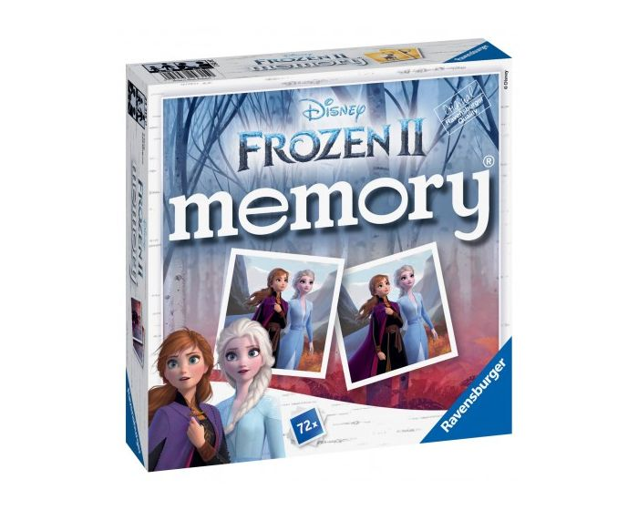 Ravensburger Επιτραπέζιο Μνήμης Memory (24315) Ψυχρά & Ανάποδα II