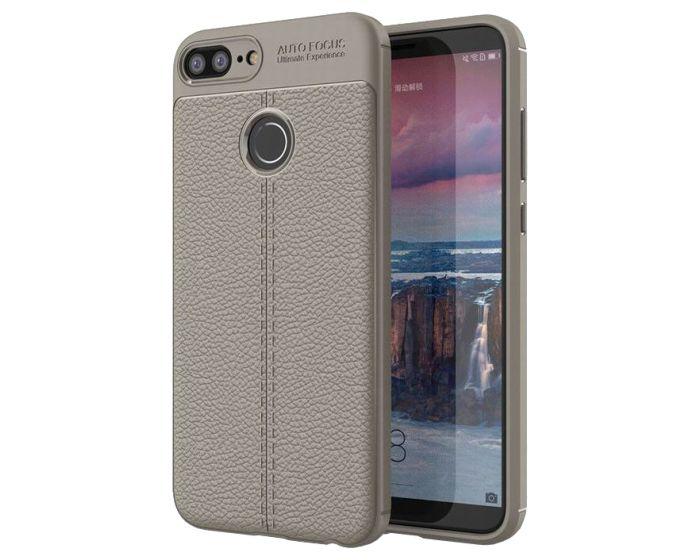 TPU Rugged Armor Football Grain Case Grey (Huawei Honor 9 Lite)