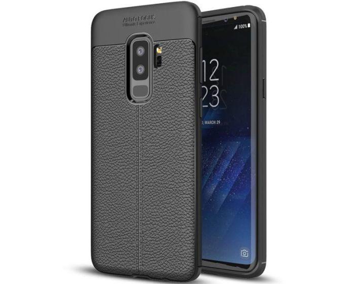 XCase TPU Rugged Armor Football Grain Case (175397) Black (Samsung Galaxy S9 Plus)