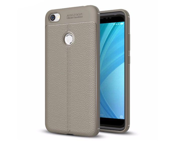 TPU Rugged Armor Football Grain Case Grey (Xiaomi Redmi Note 5A Prime)