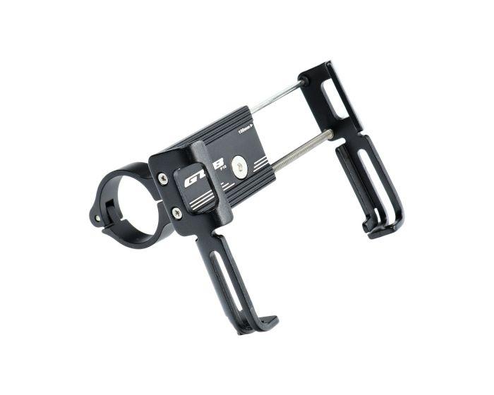 GUB P10 Aluminium Bike Holder with Silicone Bandage Βάση Στήριξης Ποδηλάτου - Black