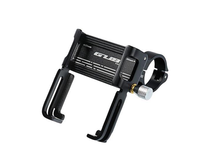 GUB P20 Aluminium 360 Bike Holder with Silicone Bandage Βάση Στήριξης Ποδηλάτου - Black