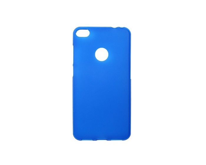 TPU Jelly Matte Slim Fit Case Θήκη Gel Blue (Huawei P8 Lite 2017 / Honor 8 Lite)