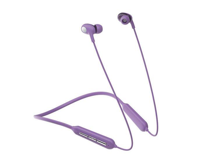 Joyroom JR-D5 Waterproof IPX5 Sports Wireless Earphones Ασύρματα Ακουστικά - Violet