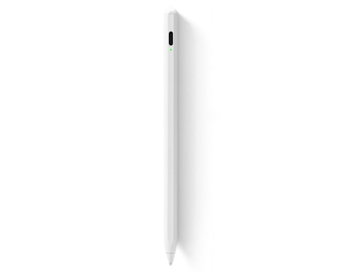 Joyroom JR-K12 Zhen Miao Automatic Dual-Mode Capacitive Stylus Pen Γραφίδα για Android / iOS - White