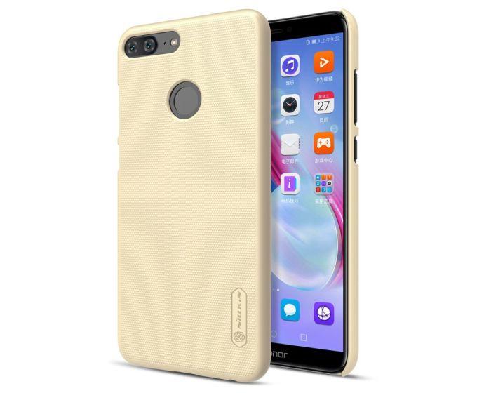 Nillkin Super Frosted Shield Case Σκληρή Θήκη Gold + Μεμβράνη Οθόνης (Huawei Honor 9 Lite)