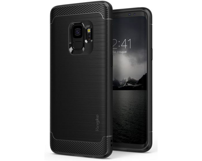 Ringke Onyx Θήκη Σιλικόνης (RKOX-GS9-BK) Black (Samsung Galaxy S9)