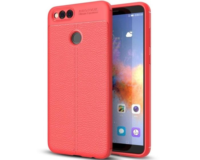 XCase Rugged Armor Football Grain Case (173627) Red (Huawei Honor 7X)