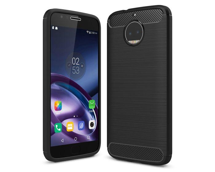 TPU Carbon Rugged Armor Case Black (Motorola Moto G5s)