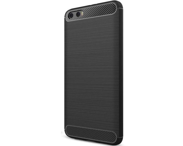 TPU Carbon Rugged Armor Case (161109) Black (Xiaomi Mi6 Plus)