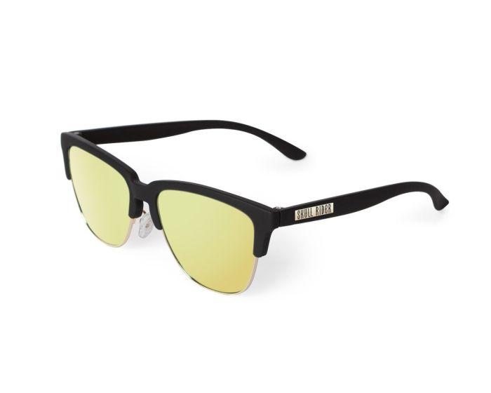 Skull Rider Metallic Sunglasses - Golden Star