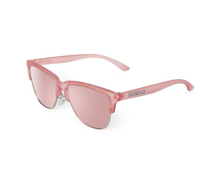 Skull Rider Metallic Sunglasses - Metallic Pink